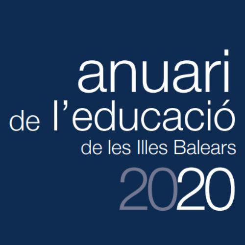 Anuari de l'educació de les Illes Balears 2020