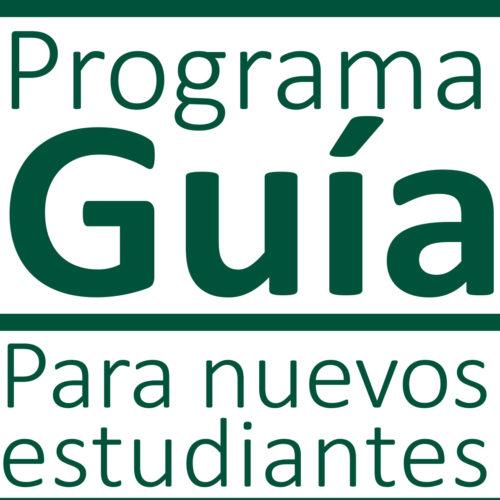 PROGRAMA GUÍA para nuevos estudiantes, Curso 2020-21